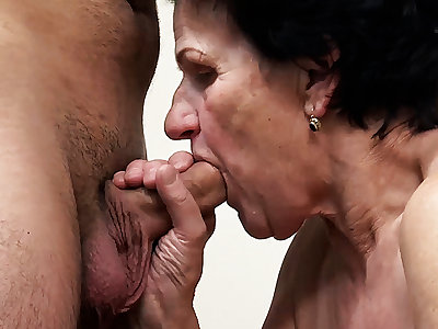 86 adulthood old granny needs a young dick