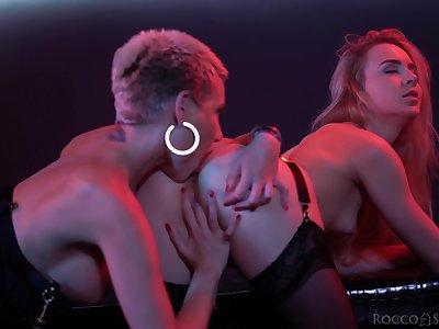 Three lesbo models enjoy having Davy Jones's locker sex with dildos - Subil Arch
