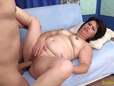 Golden Slut - Auntie Wants Will not hear of Pussy Stuffed Compilation