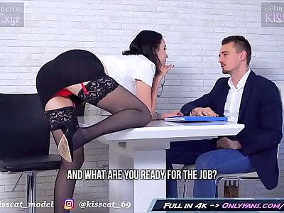 Kisscat Job Go after through DP Hard Ass Fuck with Anal Orgasm