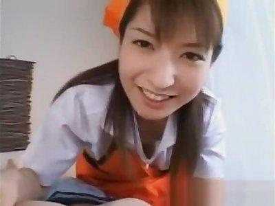 Ann Nanba Sweet Asian nurse gives part5