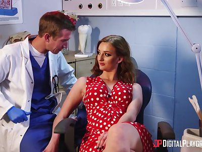 Lecherous British milf Zara DuRose is fucked by her dentist