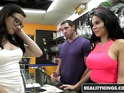 RealityKings - Money Talks - (Dylan Daniels, Kymberlee Anne) - Defile The Pussy