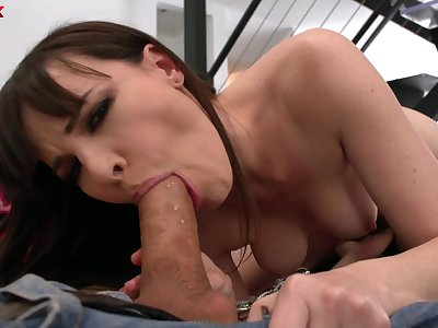Wild and only frying around the wrap up neighborhood nympho Dana DeArmond gives BJ