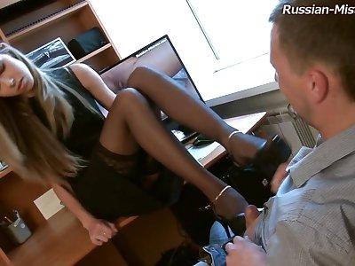 Russian Mistress Low Charm Porn Video